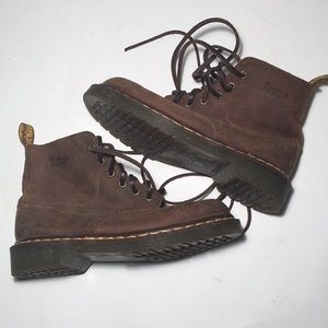 Dr Martens Crazy Horse Leather Boots 5 UK 7 US